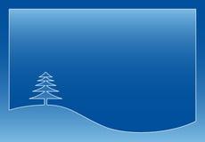Winterkarte Lizenzfreie Stockfotografie