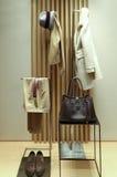 Winterkleidung und -Zubehör für Damen lizenzfreie stockfotografie