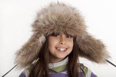 Winterlächeln Stockfotografie