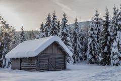 Winterland Stock Fotografie
