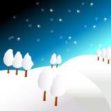 Winterland Abbildung stockbild