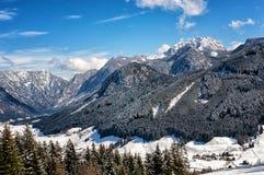 Winterlandscape Austria Stock Images