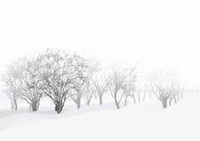 Winterlandschaft vektor abbildung