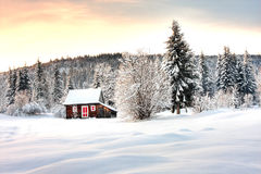 Winterlandschaft stockfotografie