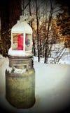 Winterlaterne Lizenzfreie Stockfotografie