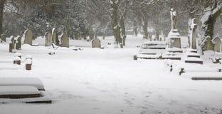 Winterliche Ruhe Stockbild