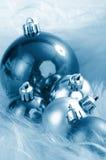 Winterliche Weihnachtsdekorationen Lizenzfreie Stockfotos