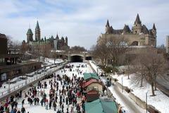 Winterlude en Ottawa fotos de archivo libres de regalías