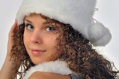 Wintermädchen Stockbild