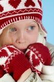 Wintermädchen Lizenzfreie Stockfotos