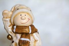 Wintermännchen Stockfotos