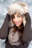 Wintermode Stockfotografie