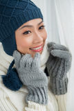 Wintermode Stockfotos