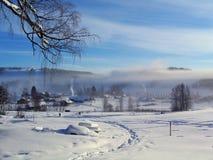 Wintermorgen Lizenzfreie Stockbilder