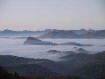 Wintermorgen Lizenzfreies Stockfoto