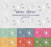 Wintermuster Lizenzfreies Stockfoto