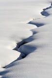 Winternebenfluß Lizenzfreie Stockbilder