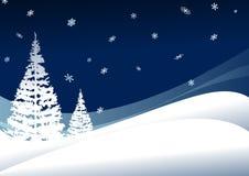 Winternight Foto de Stock Royalty Free