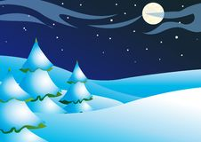 Winternight Royalty Free Stock Photos