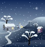 Winternight Stock Images
