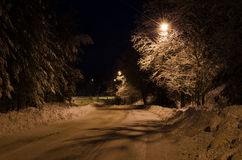Winternight Stock Image