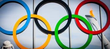 Winterolympische spiele Sochi Stockbild