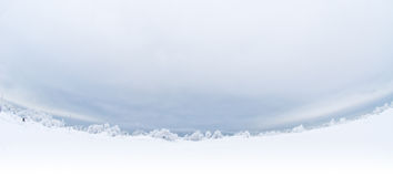Winterpanorama Stockfotos