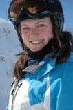 Winterportrait einer Jugendlichen Stockfotografie