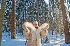 Winters joy stock image