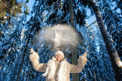 Winters joy Royalty Free Stock Photo