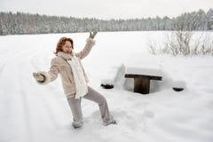 Winters joy Royalty Free Stock Image