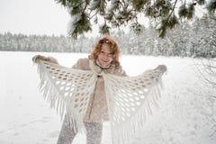 Winters joy Stock Photography