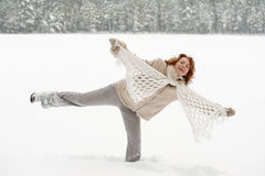 Winters joy Stock Photography