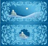 Winters ontwerp Royalty-vrije Stock Afbeelding