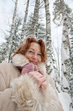 Winters portrait Royalty Free Stock Images