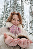 Winters portrait Royalty Free Stock Photos