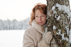 Winters portrait Royalty Free Stock Photo