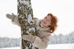 Winters portrait Royalty Free Stock Photography
