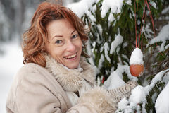 Winters portrait Royalty Free Stock Photos