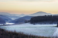 Winters scenery Royalty Free Stock Photo