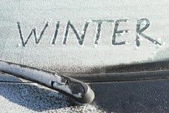 Wintersaison Stockbild