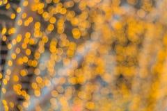Wintersaison eleganter bokeh Hintergrund Lizenzfreie Stockfotografie