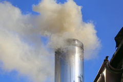 Wintersaison/Smog/Konzept lizenzfreie stockfotografie
