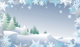 Winterscape Stock Photography