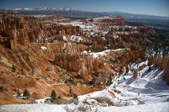 winterscape bryce амфитеатра Стоковое Изображение