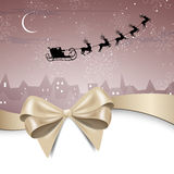 Winterscene - christmas card Royalty Free Stock Photos