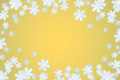 Winterschneeflockehintergrund Stockbilder