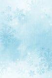 Winterschneeflockenhintergrund. stock abbildung