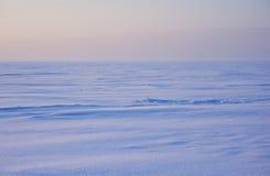 Winterschneelandschaft Stockfoto