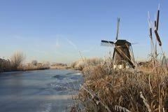 Winterslandschap, de Winterlandschap royalty-vrije stock fotografie